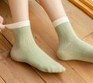 短襪 襪子女春款中筒襪ins潮短襪女士棉襪春秋長筒襪秋天百搭【快速出貨八折搶購】