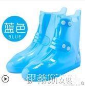 鞋套雨鞋女可愛時尚高筒雨鞋套防水雨天男防雨加厚防滑耐磨成人 【免運】