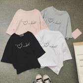 DE SHOP~學生百搭上衣服原宿字母短袖T恤(T-3400)