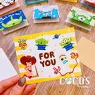 正版授權 迪士尼立體卡片 玩具總動員 巴斯胡迪三眼怪叉奇 小卡片 生日卡 萬用卡 卡片 COCOS DA030