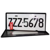 安伯特最新7碼汽車牌框(黑)(一組2入)牌框 牌照框 車牌框【DouMyGo汽車百貨】