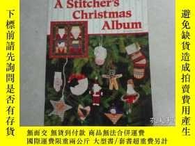 二手書博民逛書店A罕見Stitcher s Christmas Album,by
