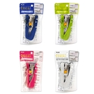 【Plus普樂士】艷彩雙排平針訂書機 釘書機(顏色隨機出貨)ST-010XH /台