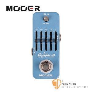 【吉他專用5段等化器】 【Mooer Graphic G】【EQ】 【Guitar Equalizer Pedal】