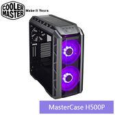 【免運費】CoolerMaster  Master Case H500P 創客機殼 (雙20CM RGB風扇) / MCM-H500PMGNNS00