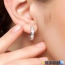 耳環 耳扣女耳環s925純銀耳釘耳圈性冷淡風氣質韓版耳飾2021年新款潮 維多原創