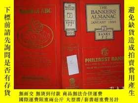 二手書博民逛書店THE罕見BANKERS ALMANAC 1995 2Y2030