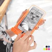 OB嚴選《ZB0093》附掛繩/臂帶多色防水可觸控手機袋.6色