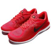 Nike 慢跑鞋 Wmns Flex 2017 RN 紅 黑 輕量化 女鞋 運動鞋 【PUMP306】 898476-600