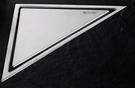【麗室衛浴】不鏽鋼角落型 三角形集水槽防臭型 G-004-1 尺寸232*117mm