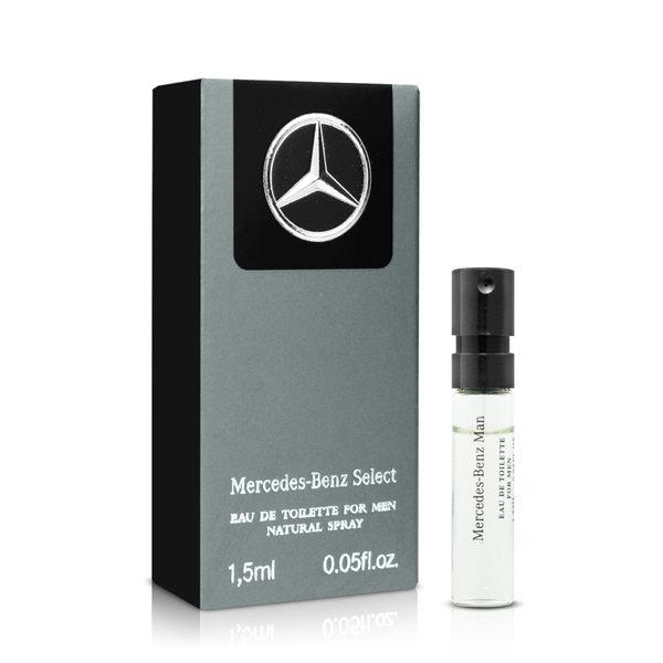 Mercedes Benz 賓士帝耀非凡男性淡香水針管(1.5ml)★ZZshopping購物網★