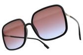Dior 太陽眼鏡 SOSTELLAIRE1 807YB (黑-漸層紅紫鏡片) 時尚大方框造型款 墨鏡 #金橘眼鏡