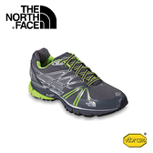 【The North Face 男 Ultra越野跑鞋 鋅灰/日光黃】 CXX5/慢跑鞋/登山鞋/攀岩鞋/越野鞋/健行鞋