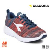 【Diadora 迪亞多那】男款休閒慢跑鞋 -混橘色(D7868)全方位跑步概念館