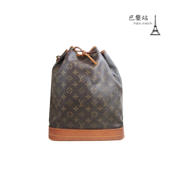 【巴黎站二手名牌專賣店】*現貨*LV 路易威登 真品*M42224經典花紋水桶包