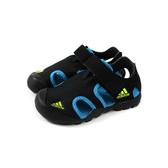 adidas CAPTAIN TOEY K 涼鞋 水陸鞋 黑色 童鞋 F97312 no680