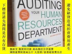 二手書博民逛書店Auditing罕見Your Human Resources Department: A Step-by-step