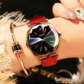 女士手錶女學生時尚潮流韓版簡約休閒大氣防水2018復古石英錶 晴天時尚館