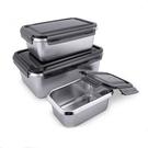 316保鮮盒不鏽鋼保鮮盒 600+1400+2800ml (3入組)  調理碗 不銹鋼保鮮盒