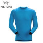丹大戶外用品【Arc'teryx】始祖鳥Phase AR全方位型男款圓領長袖排汗保暖上衣 50131011256 AB海藍