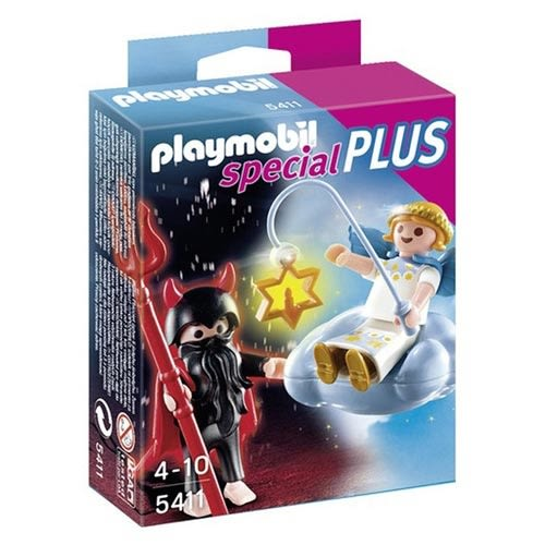 摩比積木 playmobil special plus 摩比人 天使與惡魔