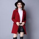 針織衫女開衫秋裝 2021新款女裝韓版中長款寬鬆顯瘦毛衣外套上衣 3C數位百貨