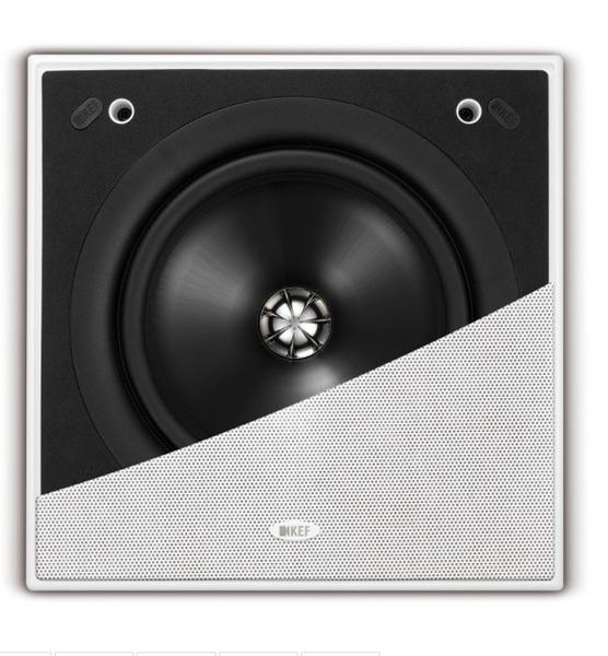 《名展影音》英國 KEF Ci200QS 正方形嵌壁式喇叭/支