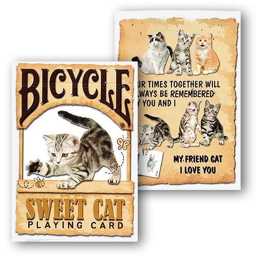 【USPCC 撲克】BICYCLE SWEET CAT PLAYING CARDS