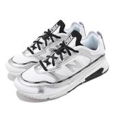 New Balance 慢跑鞋 X-Racer 白 銀 女鞋 運動鞋 【PUMP306】 WSXRCHLCB