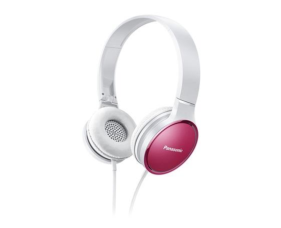 Panasonic HF300輕量繽紛耳罩式藍牙耳機-粉 RP-HF300MGCP