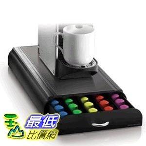 [103 美国直购] Mind Reader Anchor Coffee Pack Drawer NESTRY4PC-BLK for Nespresso Capsules  咖啡膠囊 $1678