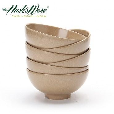 美國Husk's ware 稻殼天然無毒環保餐碗(十入)