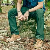 【西班牙TERNUA】男Shellstretch長褲1273511 AF / 城市綠洲(輕量、耐磨透氣、彈性、防潑水)