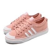 【海外限定】 adidas 休閒鞋 Nizza 粉紅 白 女款 運動鞋 【PUMP306】 D96554