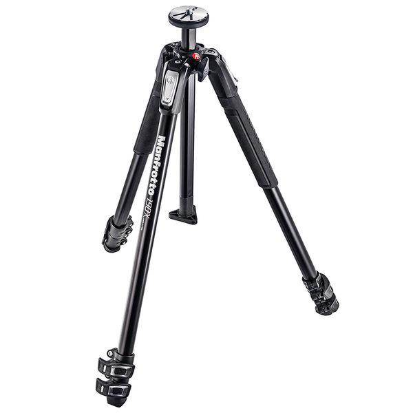 ◎相機專家◎ Manfrotto MT190X3 鎂鋁合金三腳架 送190腳架袋 正成公司貨