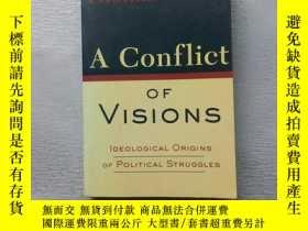 二手書博民逛書店A罕見Conflict Of VisionsY254853 Thomas Sowell Basic Books