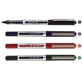 UNI 三菱 UB-150 0.5 全液式耐水性鋼珠筆[紅]