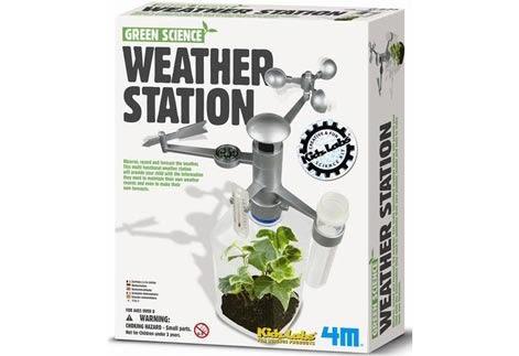 環保氣象台Weather Station 測量風 雨量和溫度