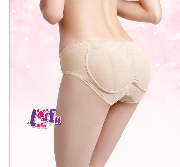 依芝鎂-H829豐臀三角透氣內褲翹臀褲透氣假屁股提臀內褲正品,售價350元