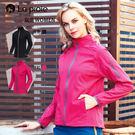 【La proie 萊博瑞】女式旅行機能彈力防潑外套(素色百搭個性防潑外套-兩色)