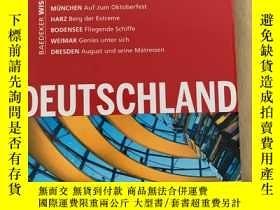二手書博民逛書店Baedeker:Deurschland罕見旅行指南 旅遊指南 德國Y332942 Verlag Karl B