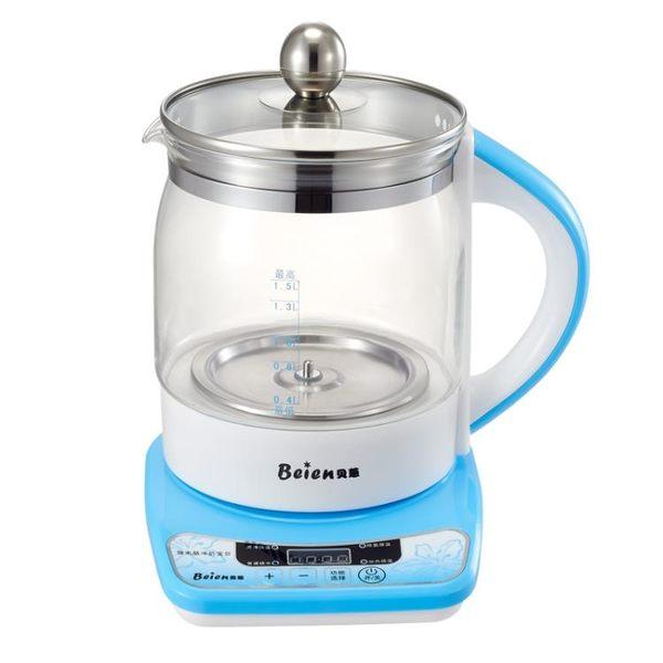 恆溫調奶器 貝蒽恒溫調奶器多功能暖奶器智慧溫熱奶器玻璃恒溫水壺沖泡奶粉機【小天使】