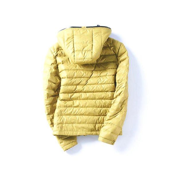羽絨服男 短款純色男士韓版連帽修身保暖羽絨服外套  瑪麗蘇