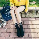 【TT】堆堆襪 棉襪 長筒襪 韓國風三條杠日系百搭中筒襪子女士