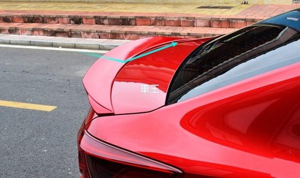 【車王汽車精品百貨】 All New Mazda3 全新馬3 馬自達3 RS款 大尾翼 尾翼 導流板 定風翼