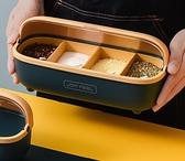 調味罐套裝 調料盒套裝家用組合裝一體多格廚房用品收納調味放鹽味精【快速出貨八折搶購】
