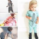 春夏短袖寶寶嬰兒連身衣包屁衣哈衣寶寶爬服- 預購