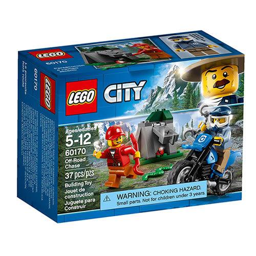 樂高積木 LEGO《 LT60170 》City 城市系列 - 越野追逐戰 ╭★ JOYBUS 玩具百貨
