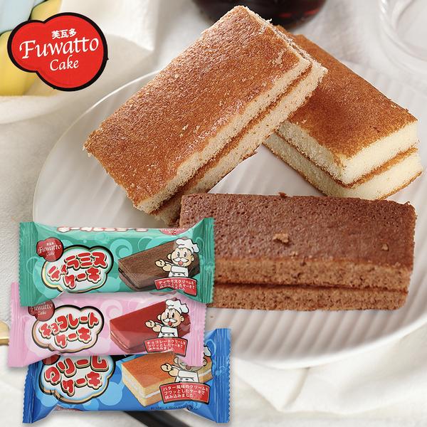 馬來西亞 芙瓦多 巧克力/奶油/提拉米蘇風味夾心蛋糕 一條入18g【庫奇小舖】