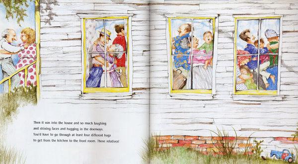 【麥克書店】『小熊媽的經典英語繪本』THE RELATIVES CAME /英文繪本